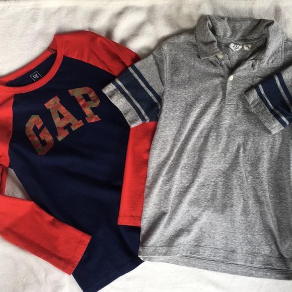 1210610ca GAP Shirts & Tops | Like New 2 Boys Shirts Size 67 | Poshmark